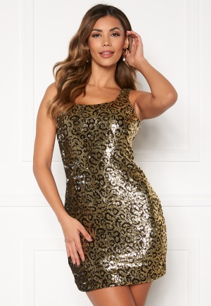 Sisters Point Elida Dress 845 Leo/Sequins XS