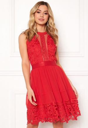 Sisters Point Else Dress 550 Red L