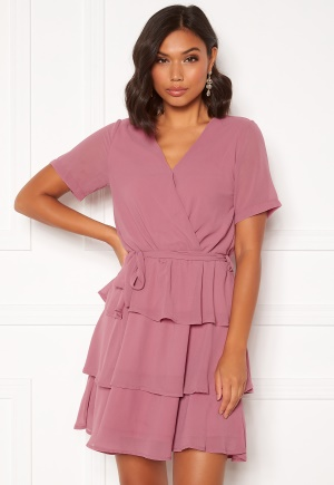 Sisters Point Nappa Dress Rouge XL