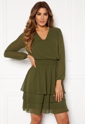 Sisters Point Nicoline Dress 207 Khaki L