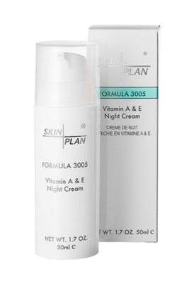 SkinPlan SkinPlan Vitamin A&E Night Cream (50ml) One Size