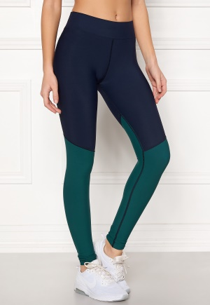 Skins Long Tights Navy Blue/Deep Teal XS