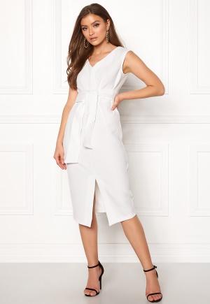 Closet London Sleeveless Midi Dress White XS (UK8)