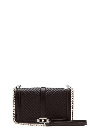 Rebecca Minkoff Slim Love Crossbody Bag Black One size