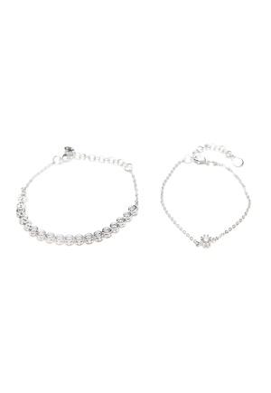 SNÖ of Sweden Crystal Vintage Bracelet S/Clear One size