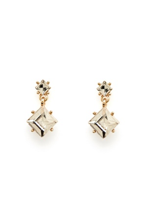 SNÖ of Sweden District Pendant Earring g/Clear One size