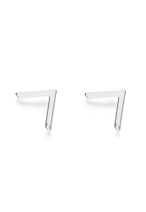 SNÖ of Sweden Path Mini Earring Silver One size