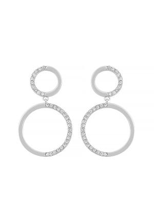 SNÖ of Sweden Portal Pendant Earring s/clear One size