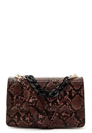 Becksöndergaard Snake Maya Bag 149 Brownish One size