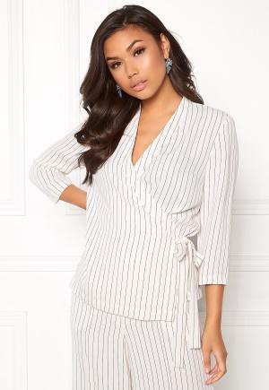 Stylein Barbara Wrap Tie Blazer Pinstripe L