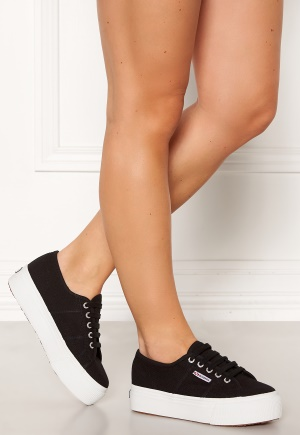 Superga Acotw Linea Sneakers Black-FWhite 36 (UK3)