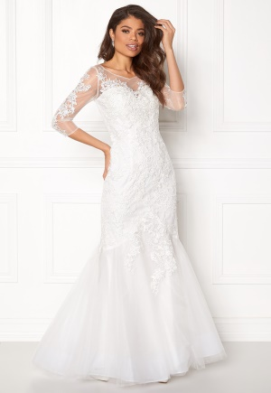 SUSANNA RIVIERI Ceremonial Dress Ivory 40