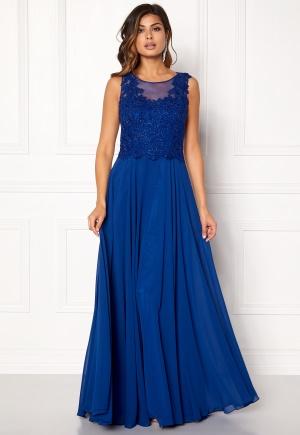SUSANNA RIVIERI Embroidered Chiffon Dress 36