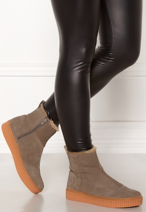 Svea Svea Anna High Suede Shoes 301 Light Brown 36 cca11fbf58
