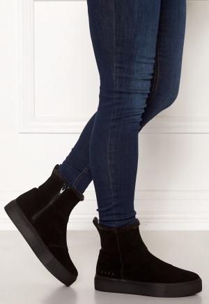 Svea Suede Boots Black 40