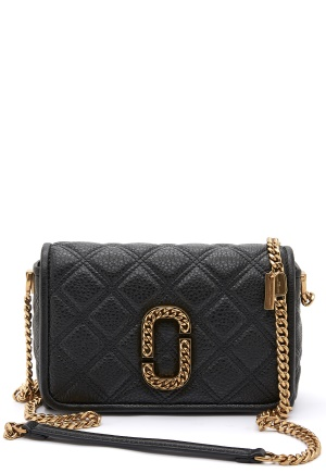 The Marc Jacobs Flap Crossbody 001 Black One size