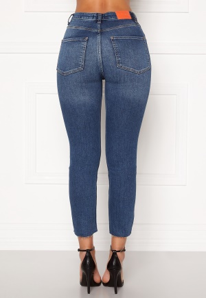 the Odenim O-Crop Jeans 02 Midblue 34