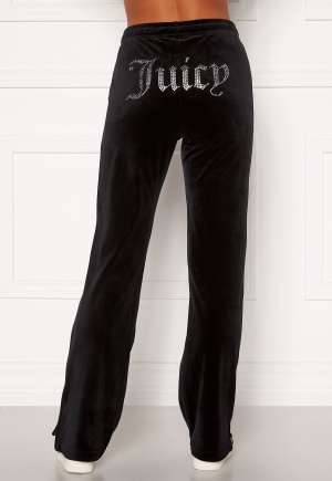 Juicy Couture Tina Classic Velour Trackpant Black S