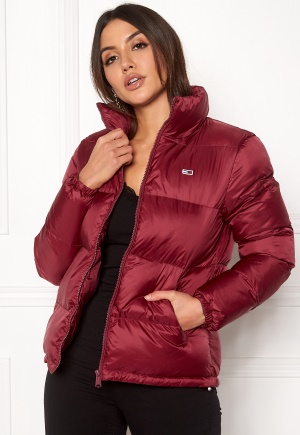 TOMMY JEANS Classics Puffa Jacket Rumba Red M
