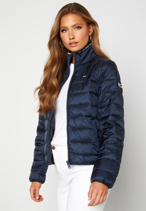 TOMMY JEANS Quilted ZipThrough Twilight Navy L