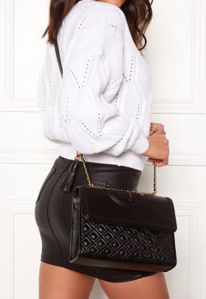 TORY BURCH Fleming Convertible Bag Black One size