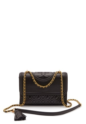 TORY BURCH Fleming small Bag Black One size