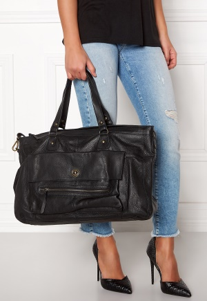Pieces Totally Royal Travel Bag Black One size