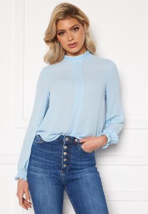 Trendyol Annie LS Blouse Mavi/Blue 34