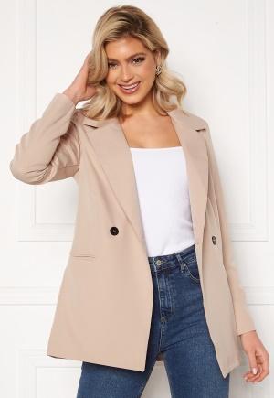 Trendyol Buttoned Blazer Jacket Tas/Stone 34