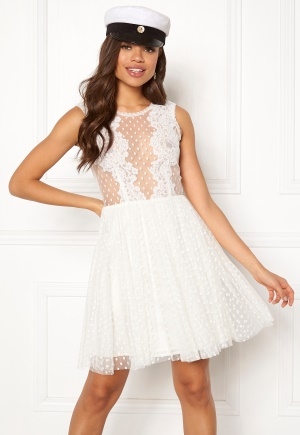 Ida Sjöstedt Trixie Dress Ivory 40