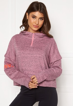 Under Armour UA Rival Terry 1/2 Zip Hoodie 691 Lipstick S