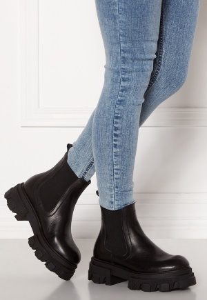 VAMSKO Molly Leather Boots Black 39
