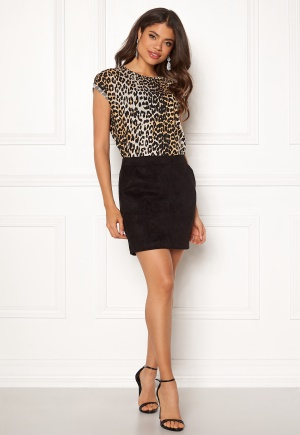 VERO MODA Donna Dina Short Skirt Black L