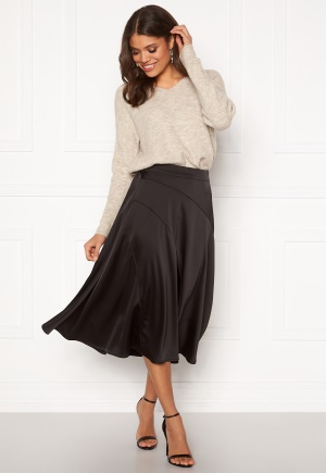 VERO MODA Gabbi Calf Skirt Black XS