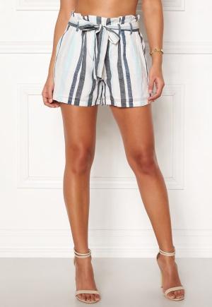 0029892fcd45 VERO MODA Tavi NW Shorts Cool Blue Stripe L