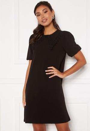VERO MODA Valentina Collar Dres Black XS