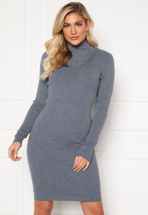 VILA Andena Knit Dress China Blue S