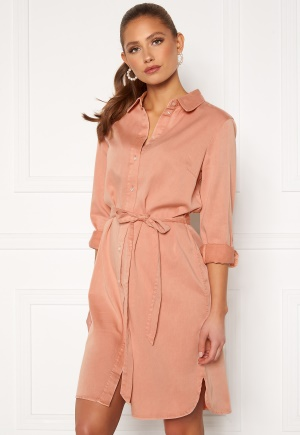 VILA Bista Denim Belt Dress Misty Rose 34