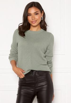 VILA Chassa L/S Knit Top Green Milieu XL