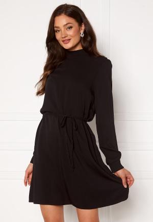 VILA Dania Smock L/S Dress Black 42