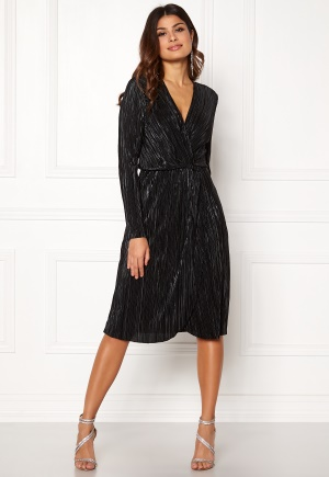 VILA Frances New Knot Dress Black 38