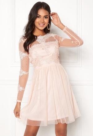 Image of VILA Georgious L/S Dress Peach Blush 40