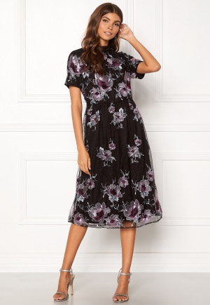 Image of VILA Leonore S/S Dress Black S