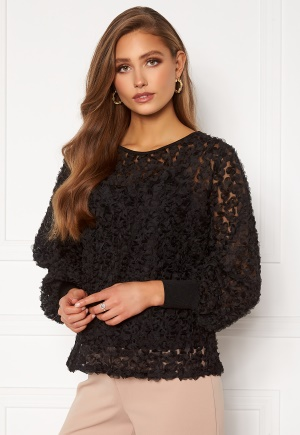 VILA Litta New L/S Top Black 44