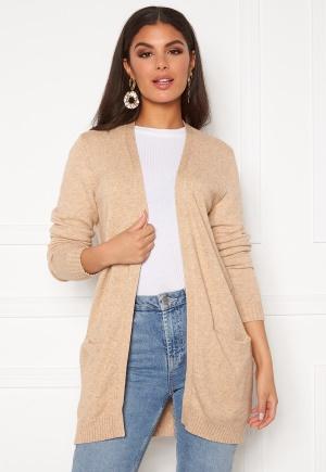 VILA Ril Open Knit Cardigan Nomad XL
