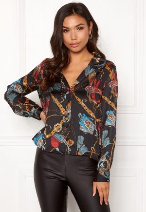 680bc6688ddb Katselet  VILA Sanka L S Shirt Black 40 44.90 €