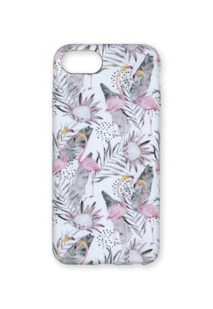 Wilma Wilma Soft Case Flamingo iPhone 6/7/8