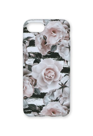 Wilma Wilma Soft Case Roses & Stripes iPhone 6/7/8