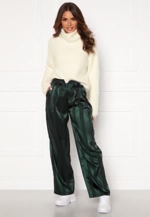 Y.A.S Audrey Wide Pants Green Gambles S