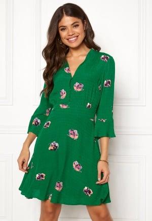 Y.A.S Avirala 3/4 Dress Verdant Green AOP S